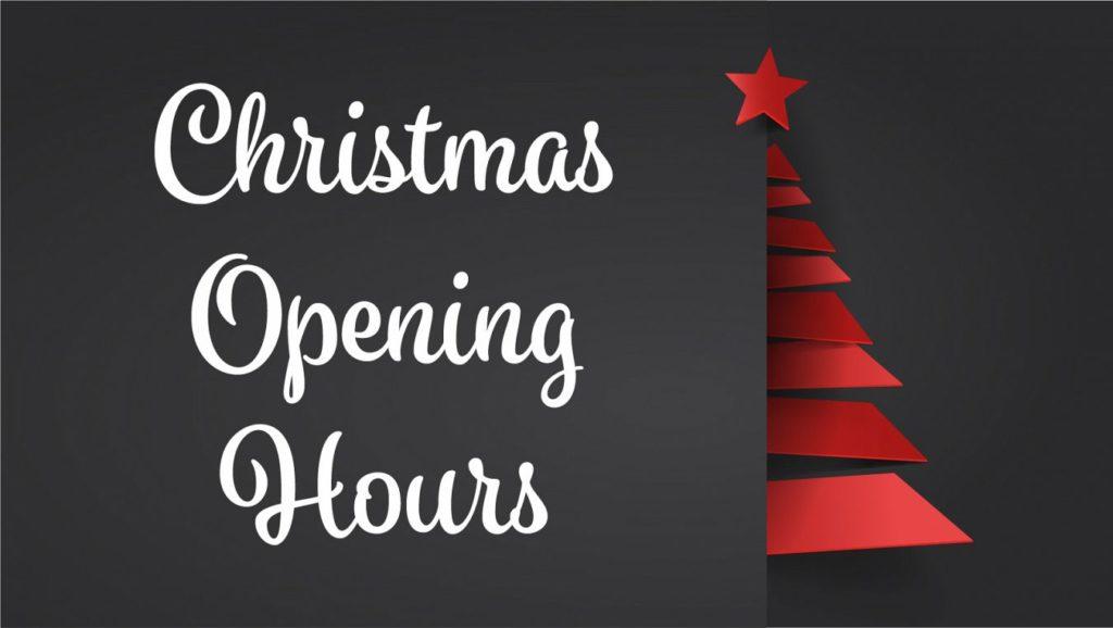Christmas Opening Hours.Christmas Opening Hours The Therapy Centre Marton